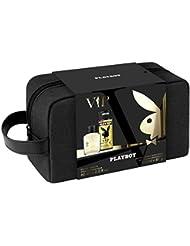 Playboy 3 Produits Vip Male Eau de Toilette 60 ml + Déodorant 150 ml + Trousse de Toilette