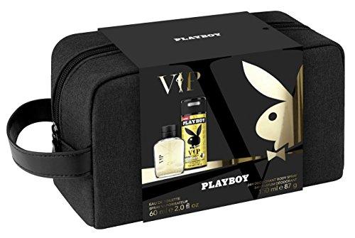 Playboy Coffret 3Produkte VIP Herren Eau de Toilette 60ml + Deodorant 150ml + Kulturbeutel