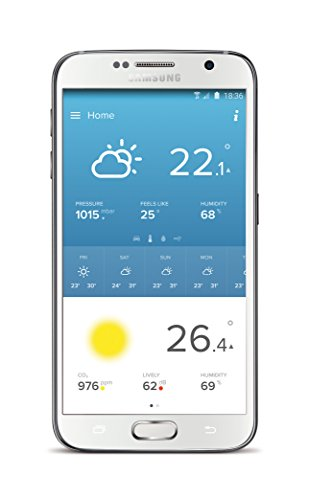 410CVoN%2BL%2BL [Bon Plan Netatmo] Netatmo Station Météo Intérieur Extérieur Connectée Wifi pour Smartphone - Capteur Sans fil - Thermomètre, Hygromètre, Baromètre, Sonomètre, Qualité de l'air - Compatible avec Amazon Alexa