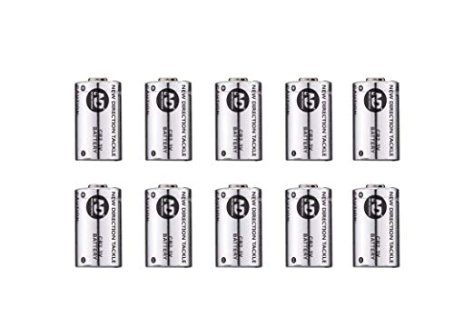 New Direction Tackle CR2*10 PCS Batteries for K9s/R9s/Th9s -