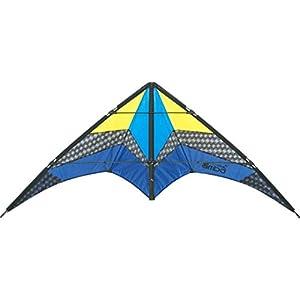 HQ Limbo II Hielo Stunt Kite Invento, 2 Cables envergadura de 155 cm, Correas y Cables incluidos.