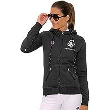 8b43f0d269988b SPOOKS Damen Sweatjacke, Kapuzen-Jacke Mädchen Kinder Frauen - Awa Jacket  XS-XXL