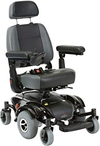 Alpha Mid Wheel Drive Electric Powerchair Wheelchair Travel Scooter Adjustable