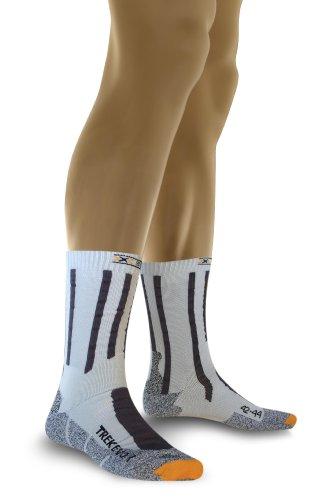 X-socks trekking evolution calza, uomo, grigio (grey/anthracite), 42/44