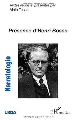 Prsence d'Henri Bosco