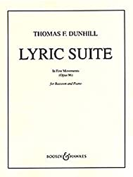 Lyrische Suite: In Fünf Sätzen. Op. 96. Fagott Und Klavier.