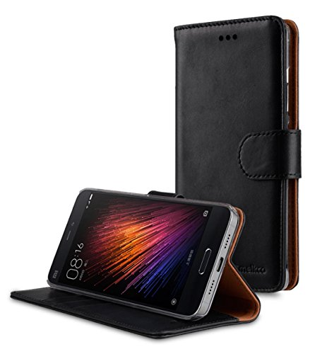 Melkco Premium Leather Case für Apple iPhone 6 11,3 cm (4,7 Zoll) Wallet Buch Typ schwarz Traditionelle Weinlese -Schwarz 4