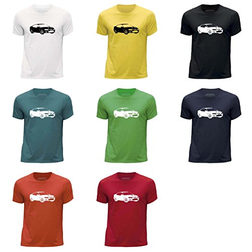 stuff4-ragazzi-girocollo-t-shirt-plantilla-coche-arte-monaro