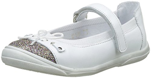 Babybotte Kiriss, Mary janes Femme Blanc (Blanc/Glitter)