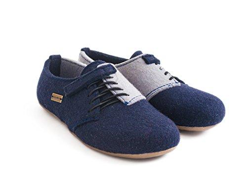 Haflinger - Everest Lars, Sneaker alte Unisex - Adulto Mittelblau