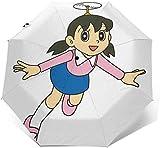 Kamei Flight Sun Umbrella-Auto Open Close Folding UV Rain Umbrella, impermeabile da viaggio Ombrellone Ombrelli automatici