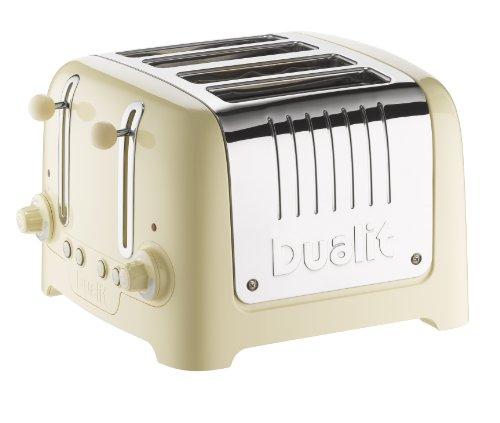 BODUM Bistro 2 Slice Toaster-Bianco larghezza regolabile riscaldamento RACK