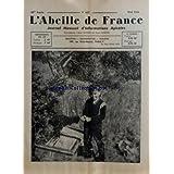 ABEILLE DE FRANCE (L') [No 427] du 01/05/1961 - ETIQUETAGE DES PRODUITS - EXPOSITION AU PALAIS DE LA DECOUVERTE - ASSURANCE MALADIE - EN HAUTE-MARNE - DESTRUCTION MALVAILLANTS D'ABEILLES