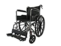 D PRO T MAG Wheels Luxury Lightweight Folding Self Propelled Wheelchair Removable Footrests Puncture Proof With Armrest And Portable