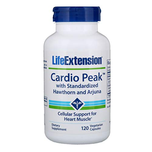 2xpack Cardio Peak with Standardized Hawthorn and Arjuna, 120 Veggie Caps by Life Extension
