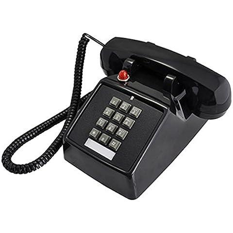 KA-ALTHEA- Fisso Telefono antico Retro carichi familiari Classical Hotels Ufficio Suonerie meccanica Rosso Nero bianco crema Soggiorno arredi d