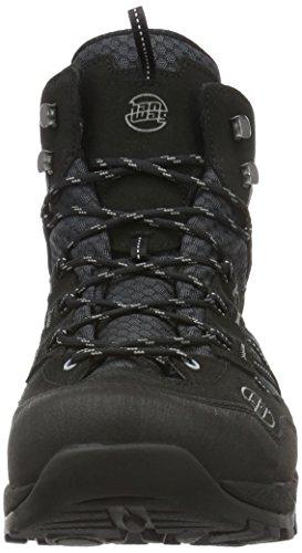 Hanwag Belorado Mid Winter Gtx, Chaussures de Randonnée Hautes Homme Noir (Black)
