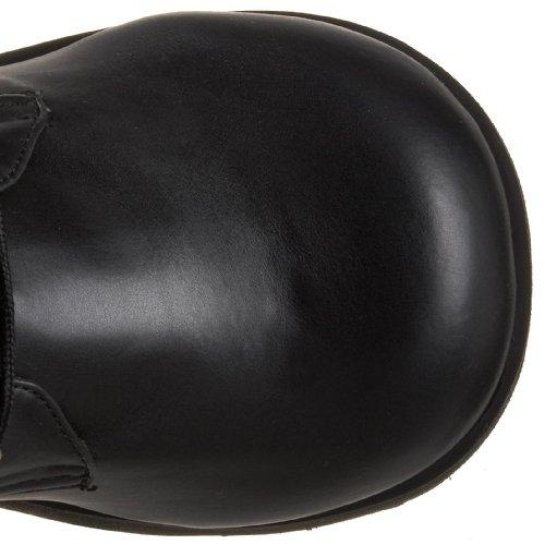 Demonia - Trashville-518, Stivale da uomo (Blk Vegan Leather)