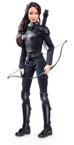 Kostüm Games Hunger Everdeen Katniss - Barbie - Puppe die Tribute von Panem Hunger 1