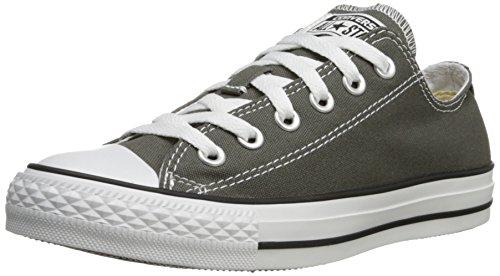 CONVERSE Chuck Taylor All Star Seasonal Ox, Unisex-Erwachsene Sneakers, Grau (Charcoal), 39.5 EU (Taylor Low Chuck Schuhe)