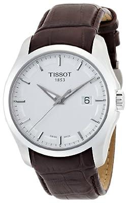 Reloj Tissot T0354101603100 de caballero de cuarzo con correa de piel marrón de Tissot