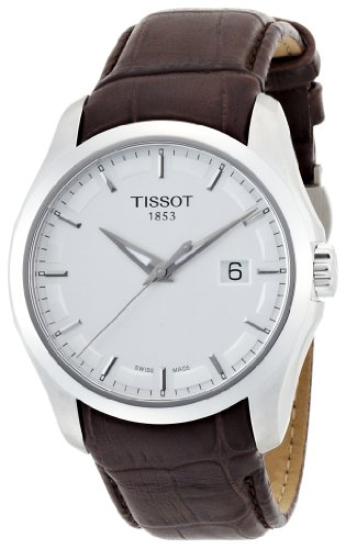 a9f1f369baa6 Reloj Tissot T0354101603100 de caballero de cuarzo con correa de piel  marrón de Tissot