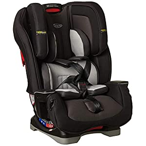 Graco Milestone LX All-in-One Car Seat Featuring Safety Surround Side Impact Protection, Group 0+/1/2/3, Midnight Grey   13