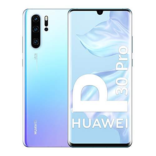 "Oferta de Huawei P30 Pro - Smartphone de 6.47"" (Kirin 980 Octa-Core de 2.6GHz, 8GB RAM, Memoria interna de 128 GB, cámara de 40 MP, Android) Color Nácar [Versión ES/PT]"