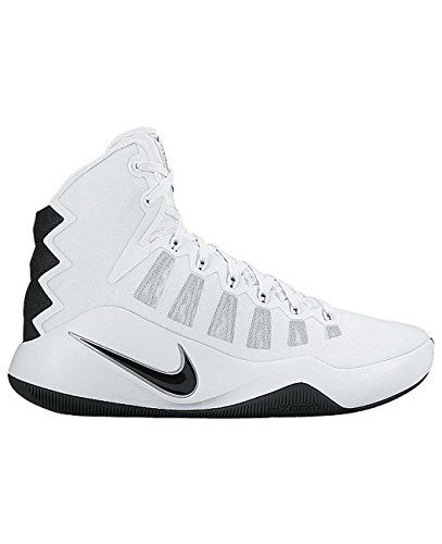 Nike Mädchen WMNS Hyperdunk 2016 Tb Basketballschuhe, Weiß (Weiß (White/Black)), 37.5 EU