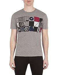 Ben Sherman homme - T-shirt manches courtes gris Ben Sherman MB13444 - Taille - L