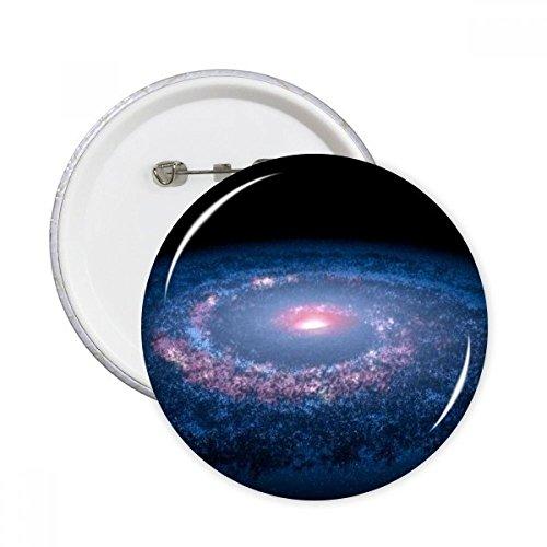 DIYthinker Nebulae Weiß Blau Planet Runde Stifte Abzeichen-Knopf Kleidung Dekoration Geschenk 5pcs Mehrfarbig L -