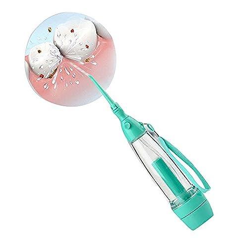 Carejoy Portable Dental Care Water Jet Oral Irrigator Flosser Tooth SPA Teeth Pick Cleaner 70 ml