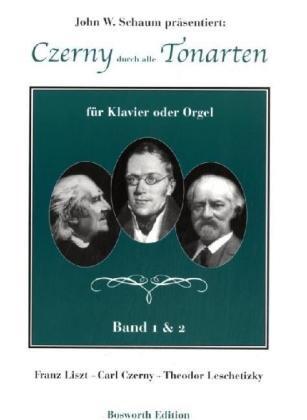 Czerny durch alle Tonarten -Für Klavier oder Orgel-: Lehrmaterial (Elektronen-orgel)