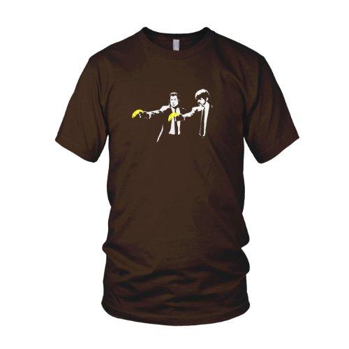 Vince & Jules Stencil - Herren T-Shirt Braun