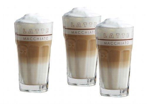 Latte Macchiato Gläser-Set 6 Gläser