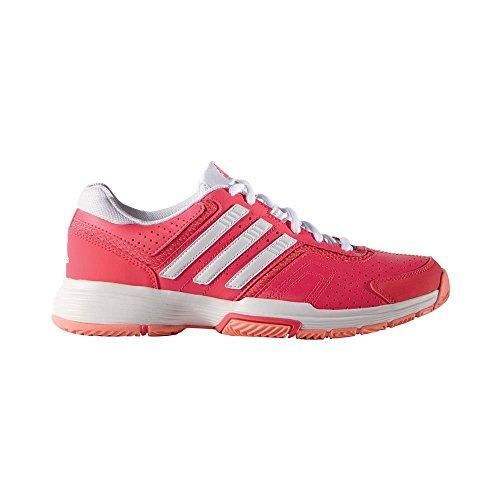 adidas Damen Barricade Court 2 W Turnschuhe, Rosa / Blanco (Rojimp / Ftwbla / Brisol), 37 1/3 EU