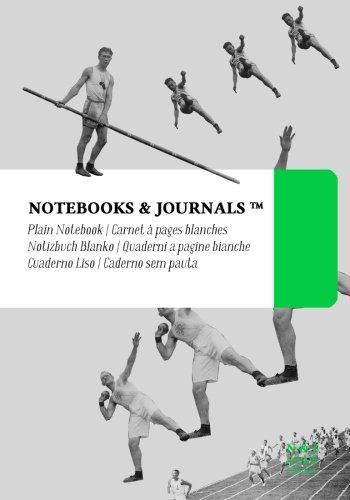Carnet Notebooks & Journals, Jeux olympiques (Collection Vintage), Extra Large, Blanc: Couverture souple (17.78 x 25.4 cm)(Carnet de Notes, Carnet de Voyage, Cahier de Texte)