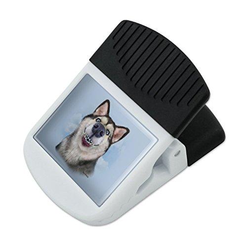 Siberian Husky Hund Selfie Kühlschrank Kühlschrank Magnet magnetische Haken zum Aufhängen Note Snack Clip