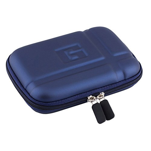 PU Hard Carry Case Cover Bag Pouch Large Hard Carry Case Cover 5 inch In Car Sat NAV Holder for GPS Classic