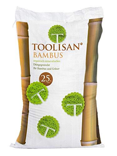 Bambusdünger TOOLISAN mit Langzeitwirkung - 25 kg Sack