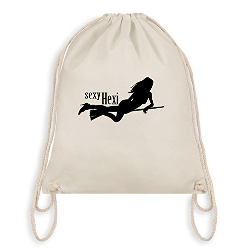 Halloween - sexy Hexy - Turnbeutel I Gym Bag Naturweiß
