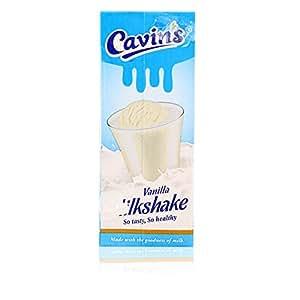 Cavins Milkshake -  Vanilla, 200ml Pack