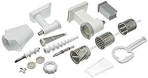 Kit 3 accessoires FPPC Accessoires pour Kitchenaid Kit Passoire Tranchoir Râpe à Cylindres