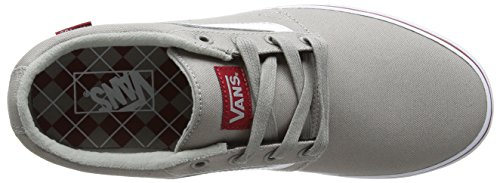 Vans Chapman Stripe, Baskets Basses Homme Gris (Varsity/Gray/Red)