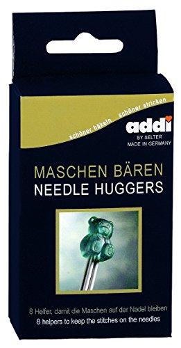 Addi 402-2 Nadelhalter Maschenbären 8 Stück