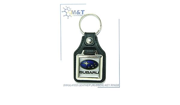 Simulierte Leder Gummi Schlüsselanhänger Medaillon Einfügen 3d Kunststoff Bild Auto