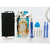 Nuovo Digitizer Touch Screen Display LCD +Frame Per HTC One M8 Silver + Kit (Compreso biadesivo)