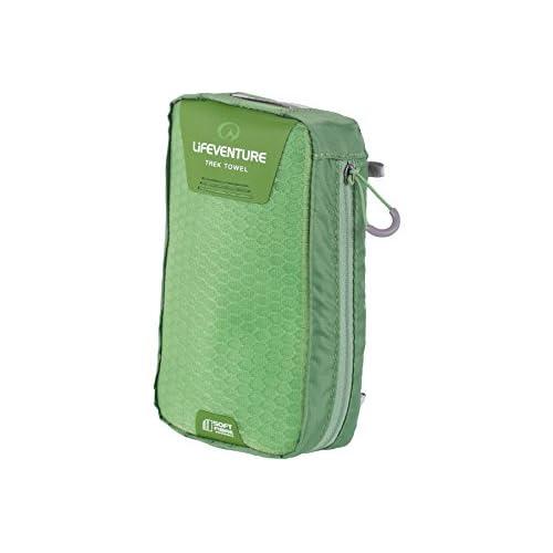Lifeventure SoftFibre Travel Towels X Large (Green)