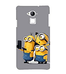 Funny Characters 3D Hard Polycarbonate Designer Back Case Cover for Coolpad Note 3