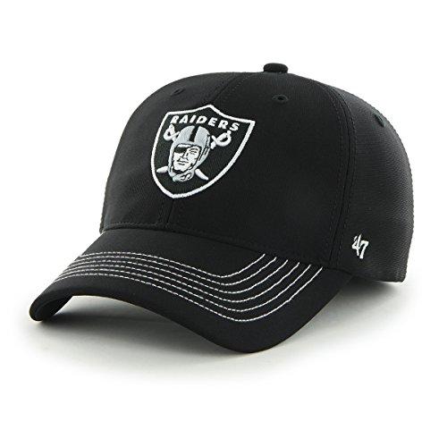 47 Brand NFL Game Time Closer Stretch Fit Cap, Herren, schwarz -